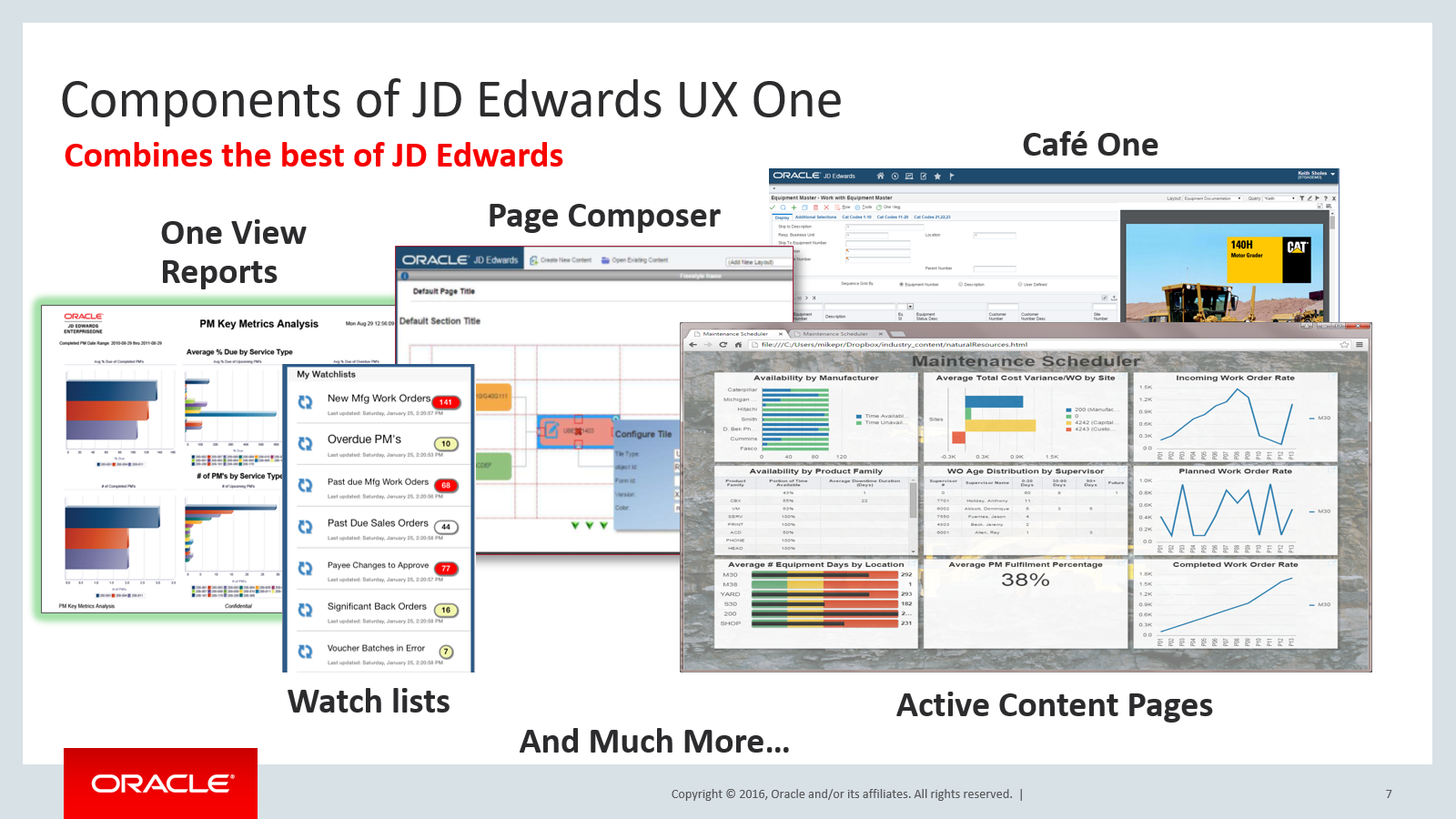 Jd edwards one world and resume