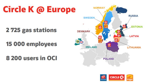 JD Edwards on OCI at Circle K Europe