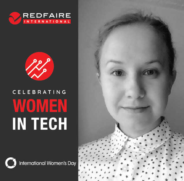 Meet Redfaire International's Women in Tech | Tetiana Tobin