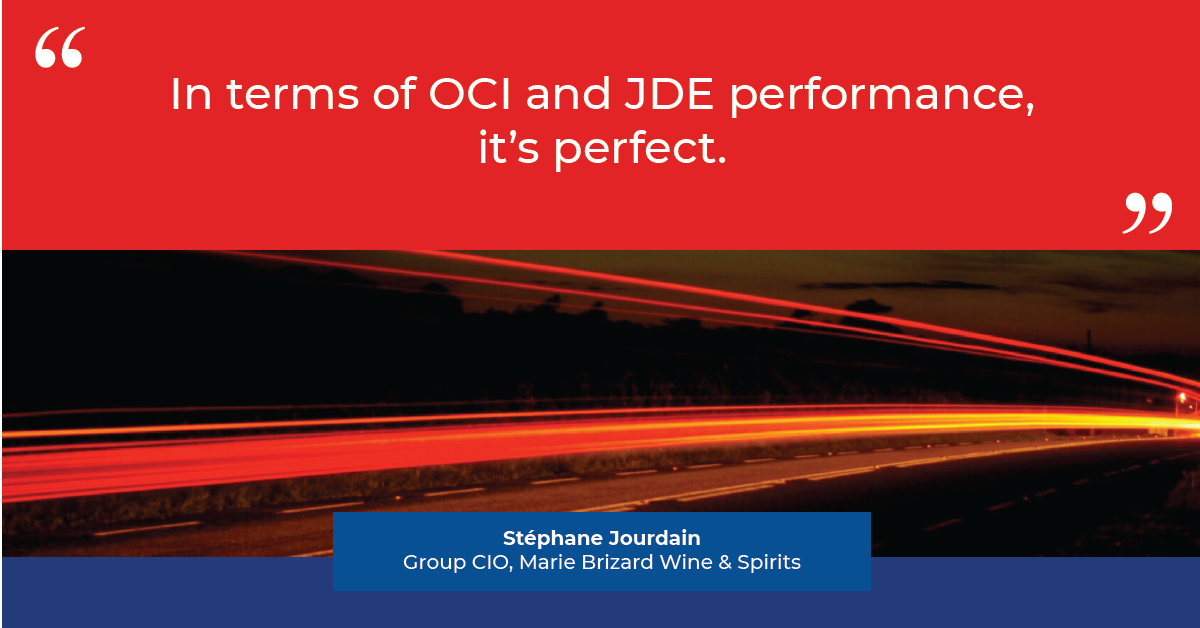 JD Edwards on Oracle Cloud at Marie Brizard Wines & Spirits