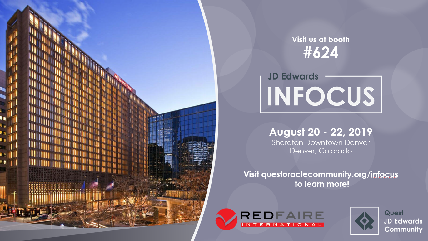 Counting down to INFOCUS '19 – See you in Denver!